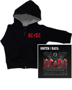 AC/DC Black Ice Sweat Bébé Metal-Kids