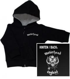 Motorhead England Sweat Bébé/ zip hoodie Metal-Kids