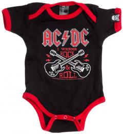 Bébé AC/DC Body Rock n Roll AC/DC
