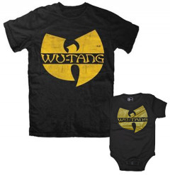 Set Rock duo t-shirt pour papa Wu-Tang Clan & Wu-Tang Clan body Bébé