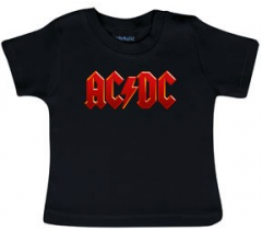 AC/DC T-shirt Bébé Logo Colour Metal-Kids