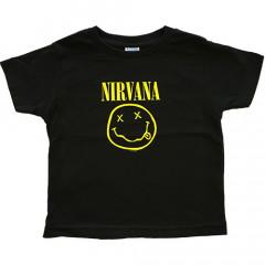 Nirvana t-shirt Enfant Smiley