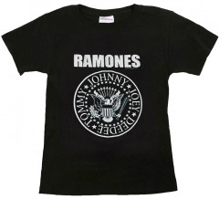 Ramones t-shirt Enfant Logo White
