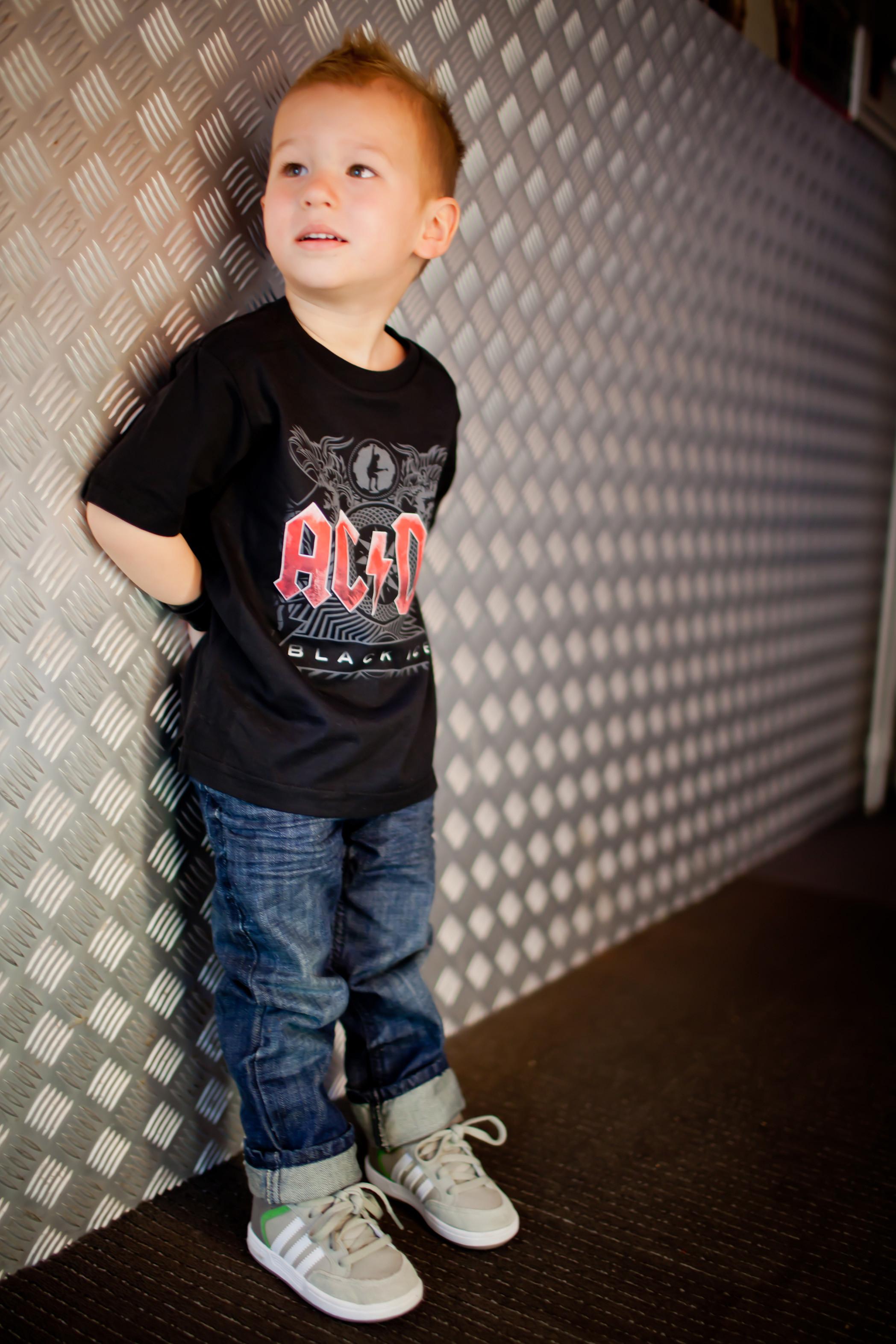 Metal-Kids t-shirt ACDC