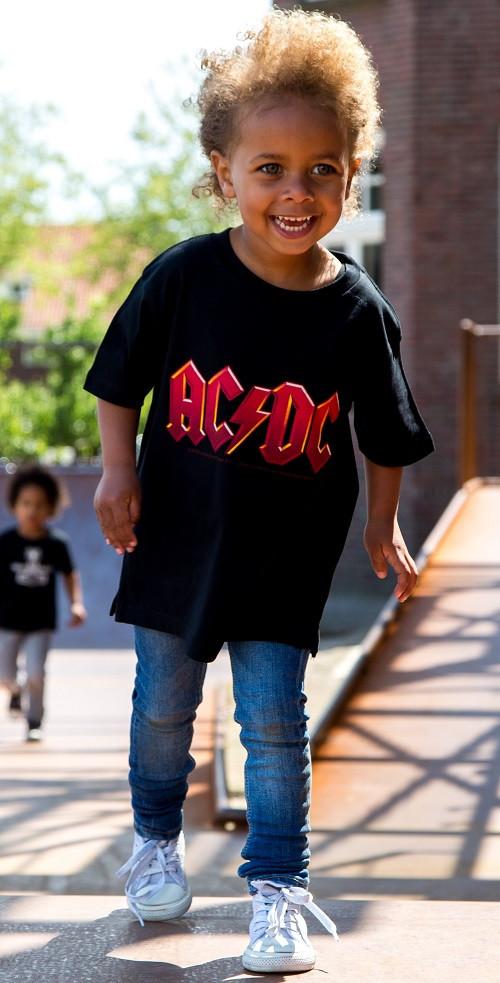 AC/DC t-shirt Enfant Logo colour é Metal Enfant photo