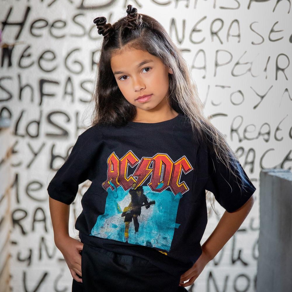 T-SHIRT AC/DC Enfant Blow Up Your Video fotoshoot