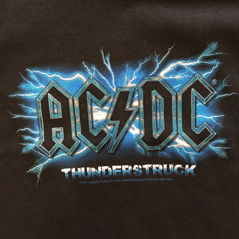 AC/DC Baby T-shirt Thunderstruck ACDC (Clothing)