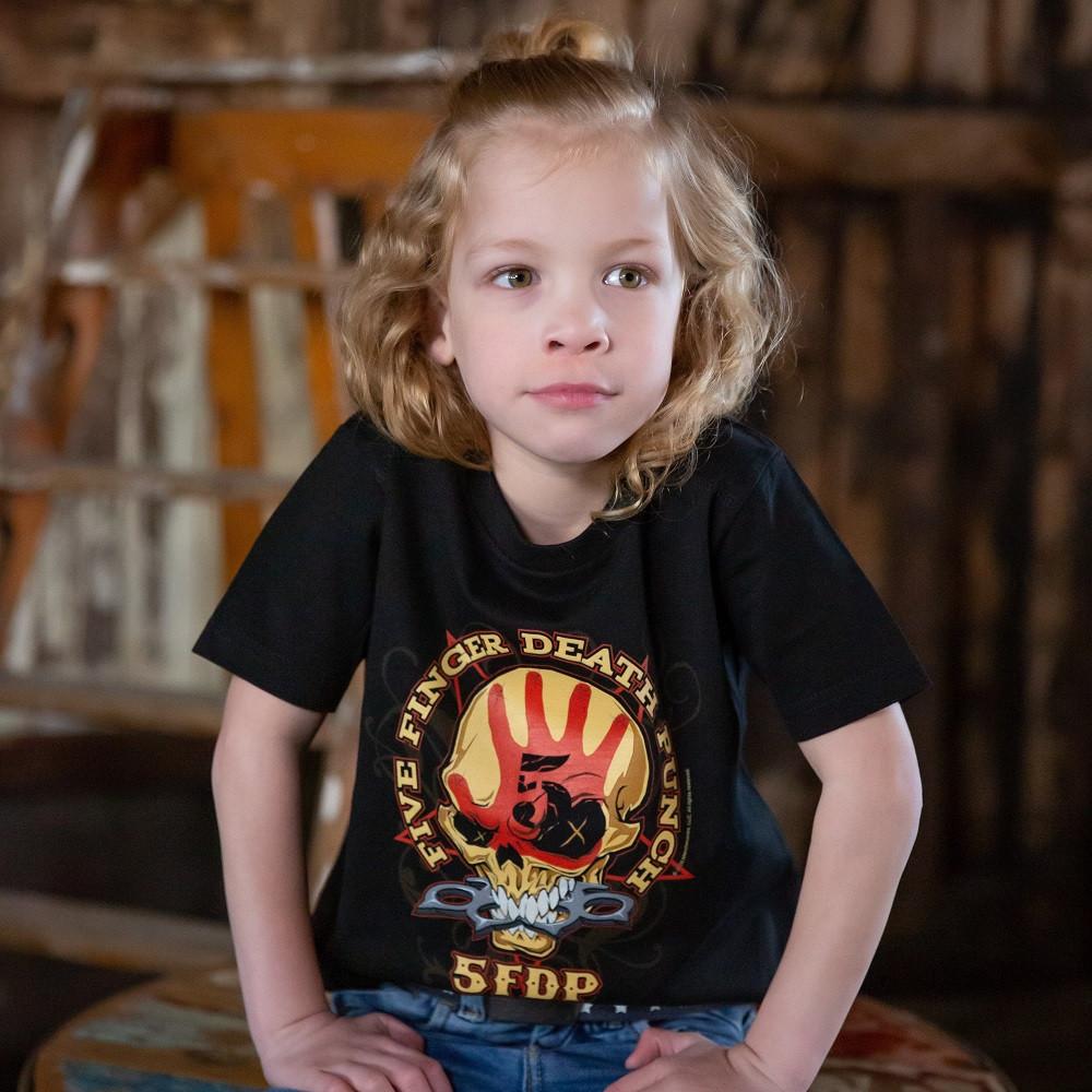 Five Finger Death Punch t-shirt Enfant Metal-Kids fotoshoot