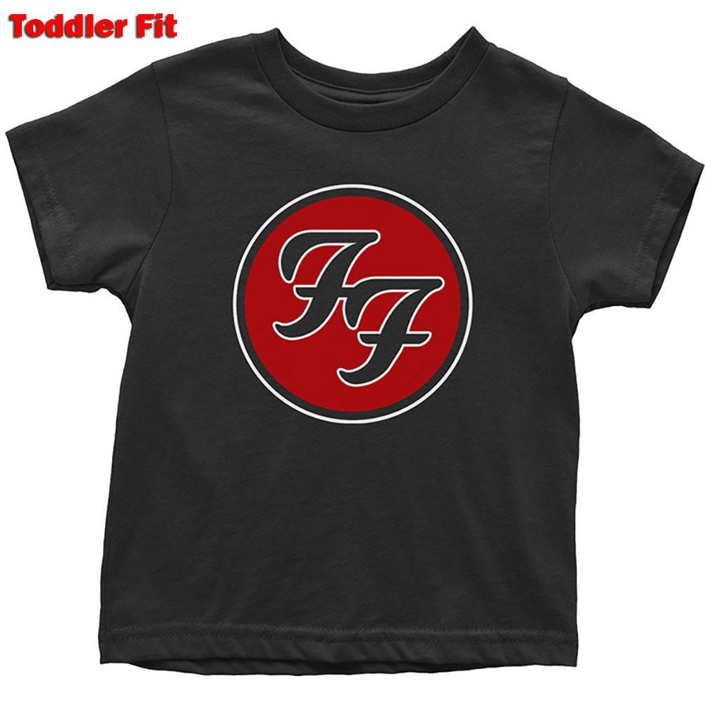 T-Shirt Foo Fighters Enfant Logo Red
