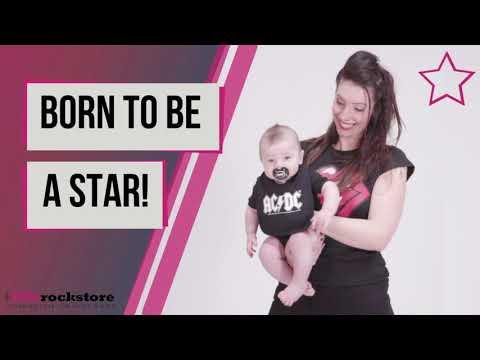 Une tétine pour bébés de AC/DC ☆ Born to be a star!
