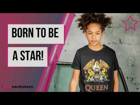 T-Shirt Queen Enfant Classic Crest