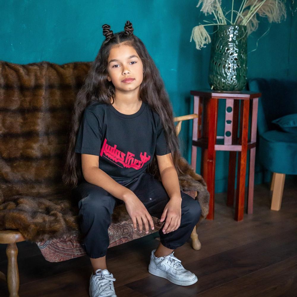 T-shirt Enfant Judas Priest Logo fotoshoot