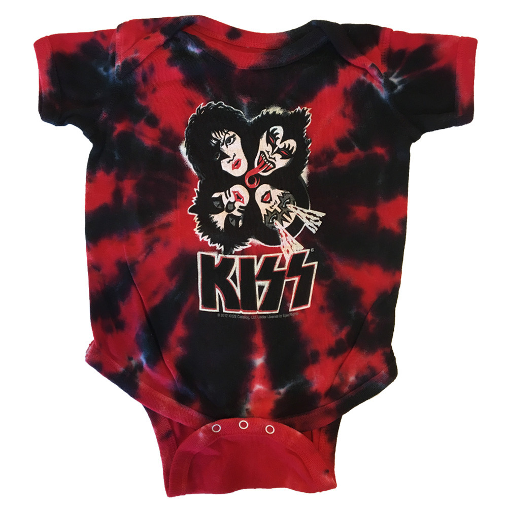 Body Bébé KISS Red