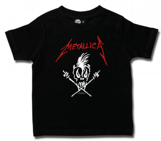 T-shirt Enfant Metallica Scary Guy