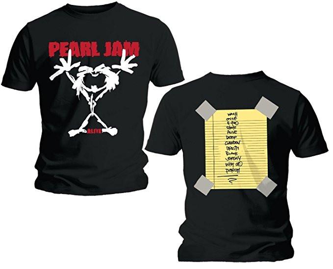Set Rock duo t-shirt pour papa Pearl Jam & Pearl Jam body Bébé & CD