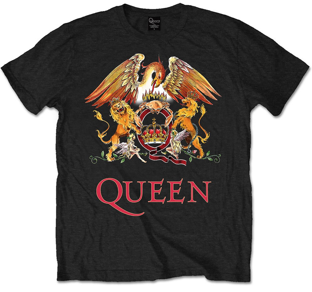 T-Shirt Queen Enfant Classic Crest