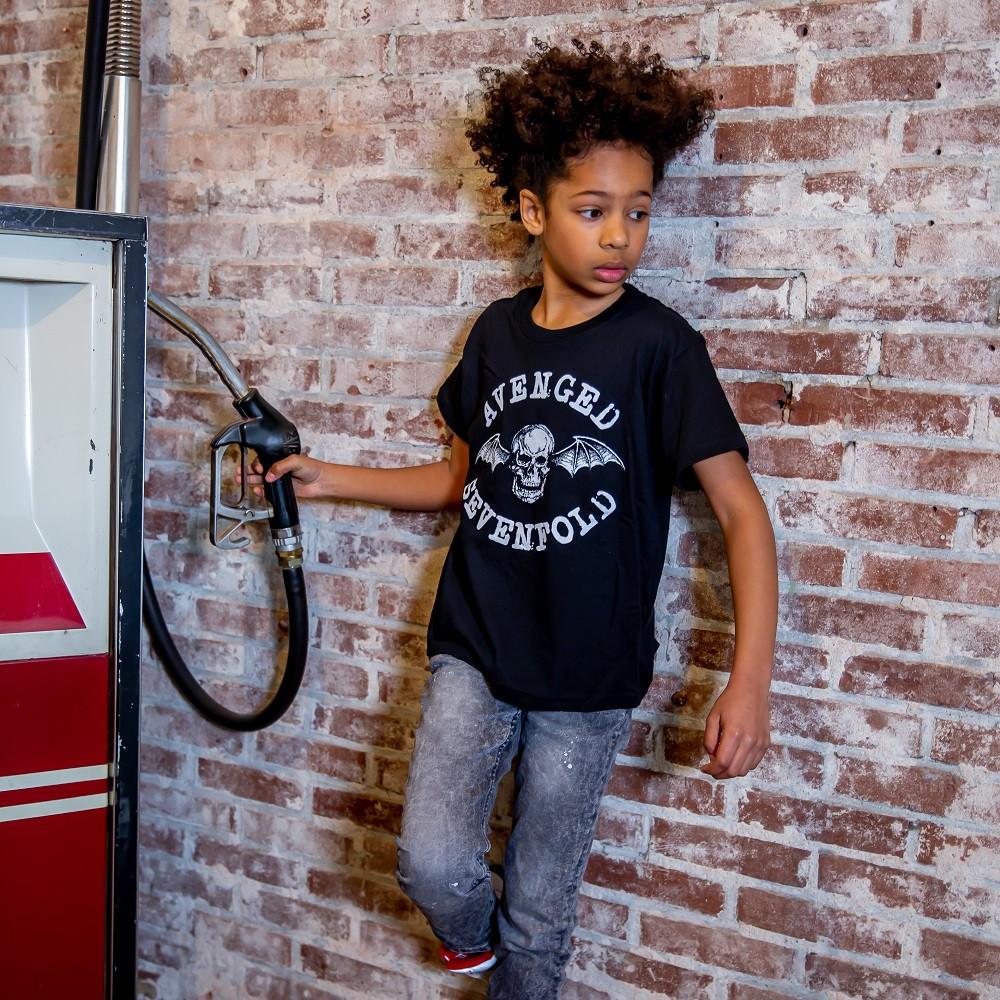 Avenged Sevenfold t-shirt Enfant Logo fotoshoot