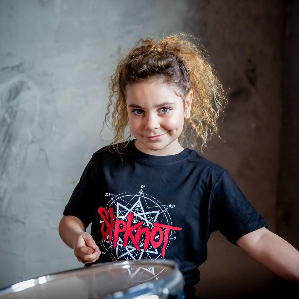 Slipknot t-shirt Enfant Scribble fotoshoot