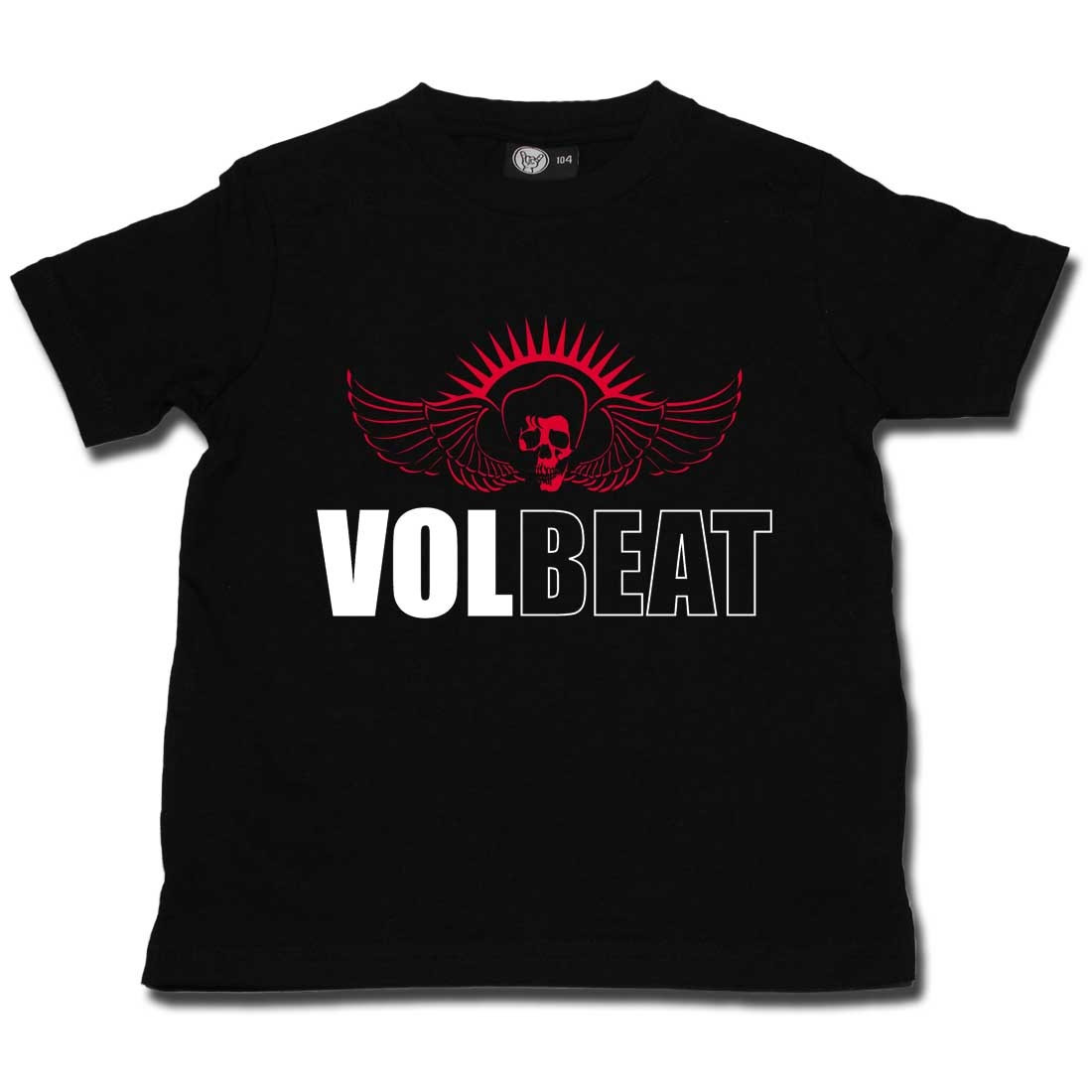 Vollbeat t-shirt Enfant Skullwing Metal-Kids (Clothing)