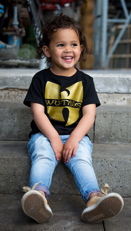 Wu-tang Clan t-shirt Enfant Logo photo