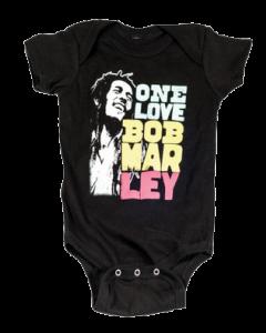 Body Bébé Bob Marley Smile Love