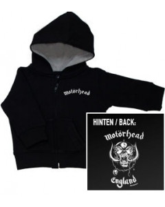Motorhead England Sweat enfant/ zip hoodie Metal-Kids