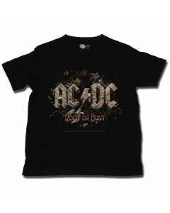 AC/DC t-shirt Enfant Rock or Bust é METAL Enfant