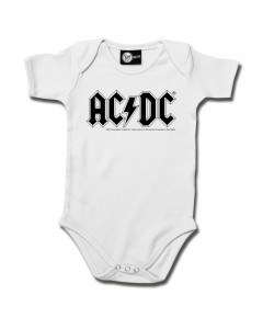Body Bébé AC/DC AC/DC White é  body Bébés