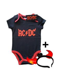 AC/DC Devil Horns body Bébé