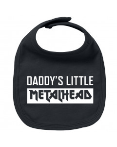 Bavoir Metal Bébé Daddy's little Metalhead