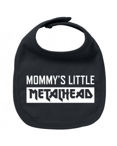 Bavoir Metal Bébé Mommy's little Metalhead