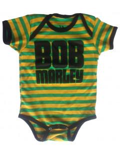 Body Bébé Bob Marley Jamaica Stripe