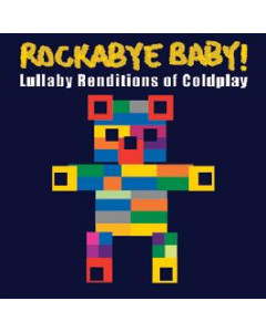 Rockabye Baby Coldplay CD Lullaby