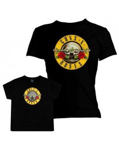 Set Rock duo t-shirt pour maman Guns N' Roses & t-shirt Enfant
