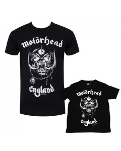 Set Rock duo t-shirt pour papa Motörhead & t-shirt Bébé