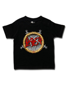Slayer t-shirt Enfant Pentagram Metal-Kids