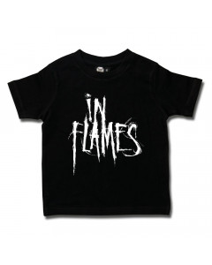 In Flames t-shirt Enfant Logo Metal-Kids