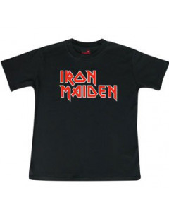 Iron Maiden t-shirt Enfant Logo é Metal Enfant