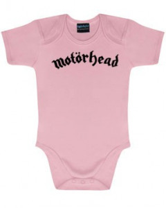 Motörhead body é metal bodys Metal-Kids Logo Pink