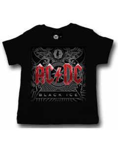 AC/DC t-shirt Bébé Black Ice Metal-Kids