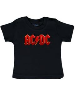 AC/DC T-shirt Bébé Logo Colour Metal-Kids