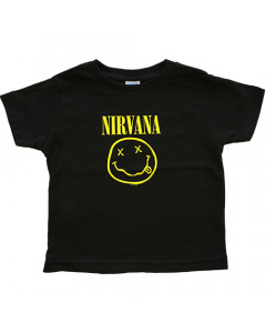 Nirvana t-shirt Enfant Smiley