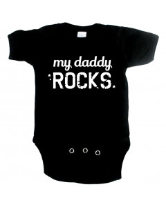 Body Bébé Original my daddy rocks