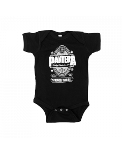 Pantera Baby Onesie Stronger Than All Metal-Kids