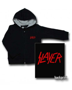 Slayer Logo Red Sweat Bébé (Print On Demand)