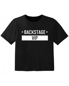 T-shirt Bébé Rock backstage VIP