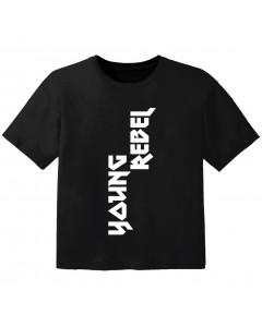 T-shirt Bébé Rock young rebel