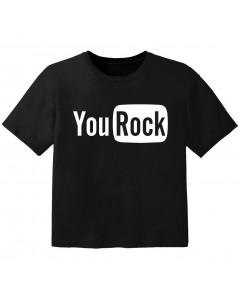 T-shirt Rock Enfant you rock
