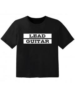 T-shirt Rock Enfant lead guitar