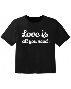 T-shirt Original Enfant love is all you need